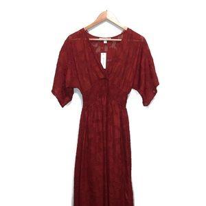 Francesca's maxi bridesmaid dress